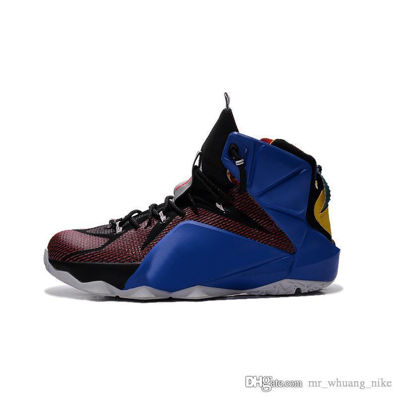 size 40 9cfe7 cf136 2019 Mens What The Lebron 12 Basketball Shoes MVP Championship Boys Girls  Youth Kids Sneakers Tennis With Box From Mr whuang nike,  45.22   DHgate.Com