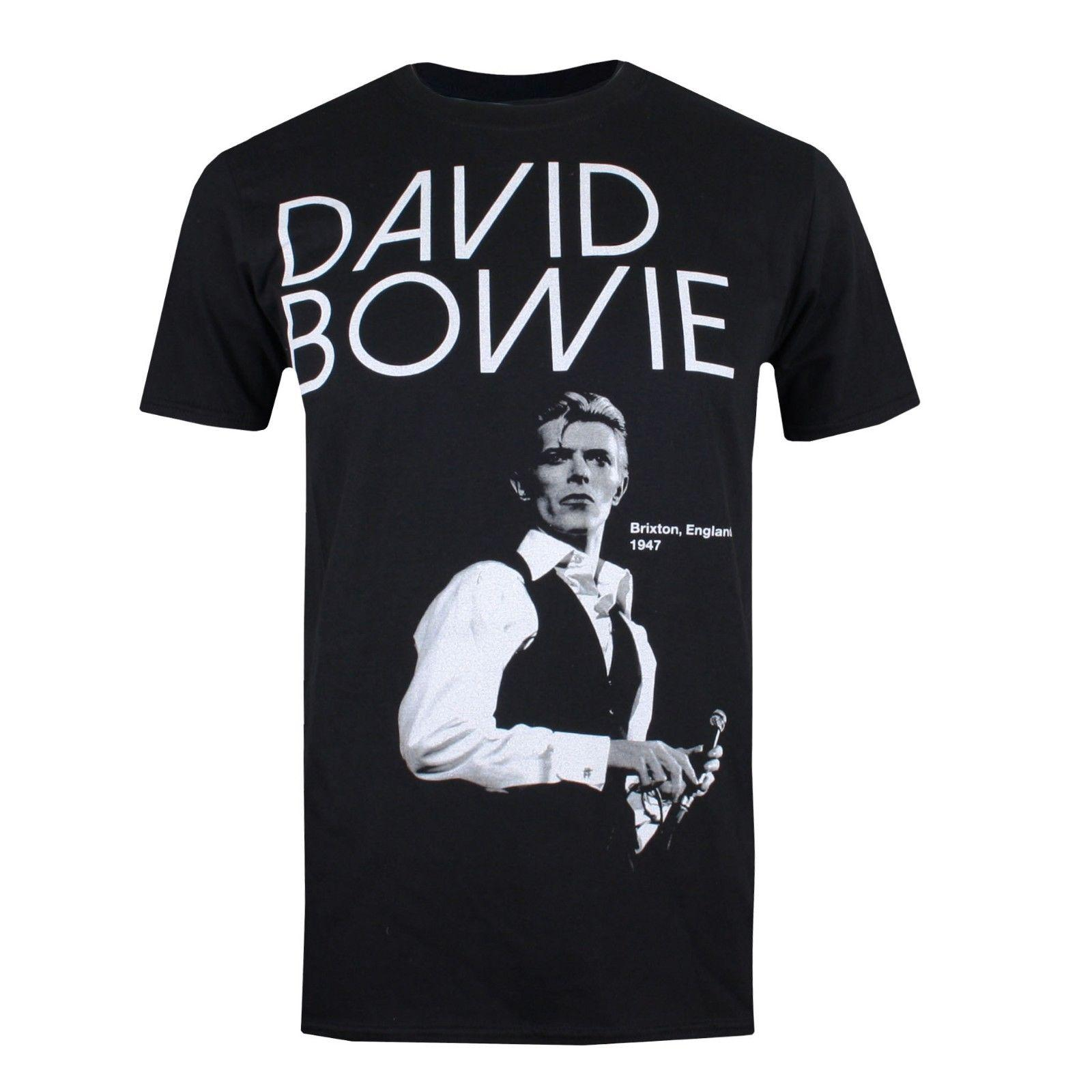 4ad1040217 David Bowie Brixton 1947 Official Men'S T Shirt Black 2018 New Tee Print  Men T Shirt Tops Hip Hop Short T Shirt T Shirt Slogans Dirty T Shirts From  ...