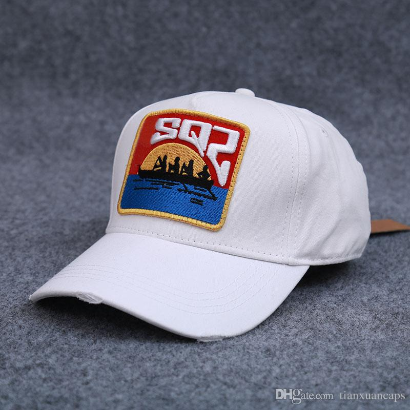 1bd16fbdd5736 Boating White Baseball Cap 2018 New Arrival Unisex Casual 100%Cotton Hat  Good Quality Cap Custom Baseball Hats Army Hats From Tianxuancaps