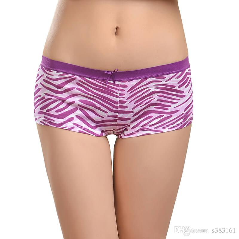 dd97727f50cf 2019 New Design Sale Young Girls Panty Cotton Lingerie Sexy Women Boxer  Stried Women Sexy Boyshort From S383161, $5.37 | DHgate.Com
