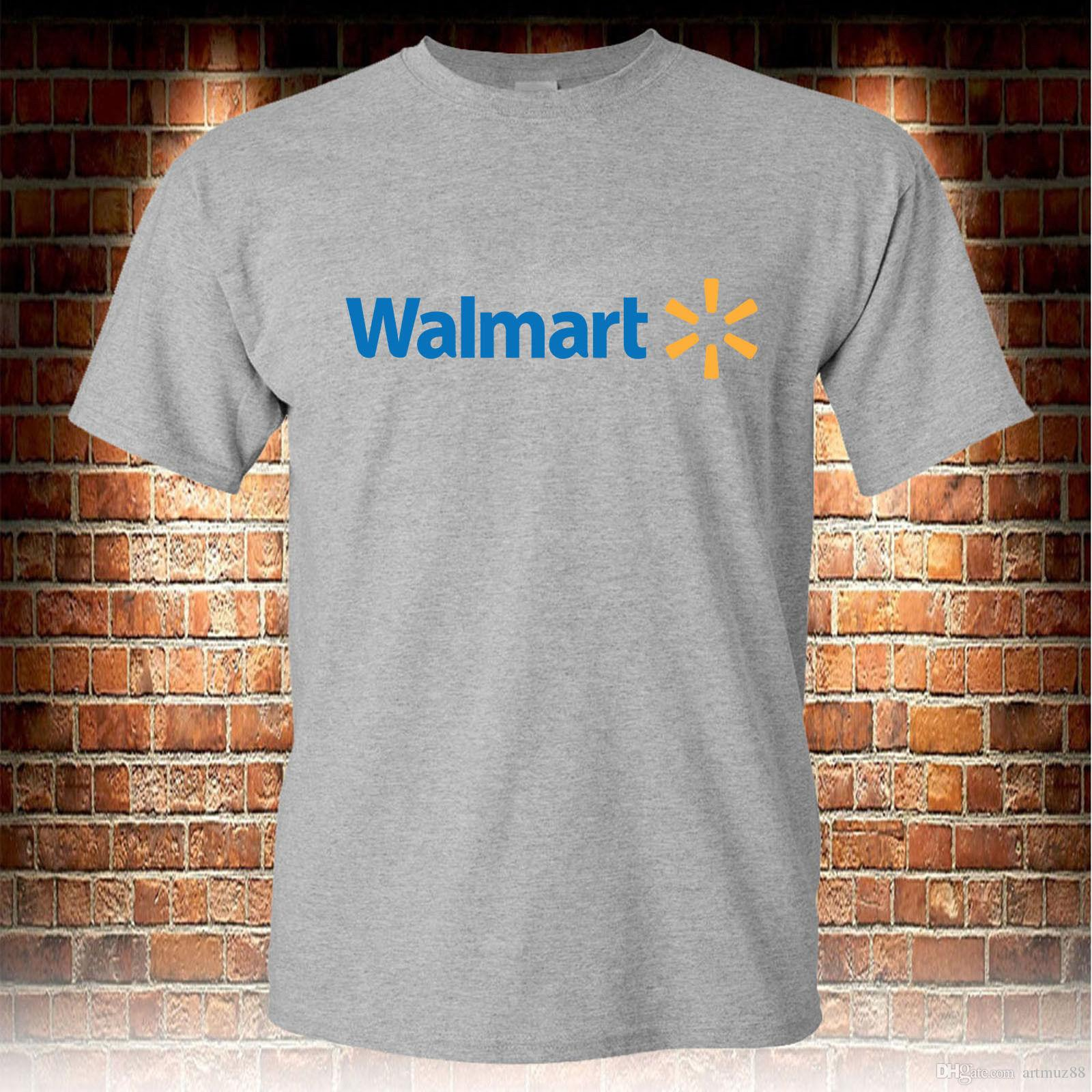 9b595f3e Walmart Market Store Grey T Shirt Men'S Tshirt S To 3XL Funny T ...