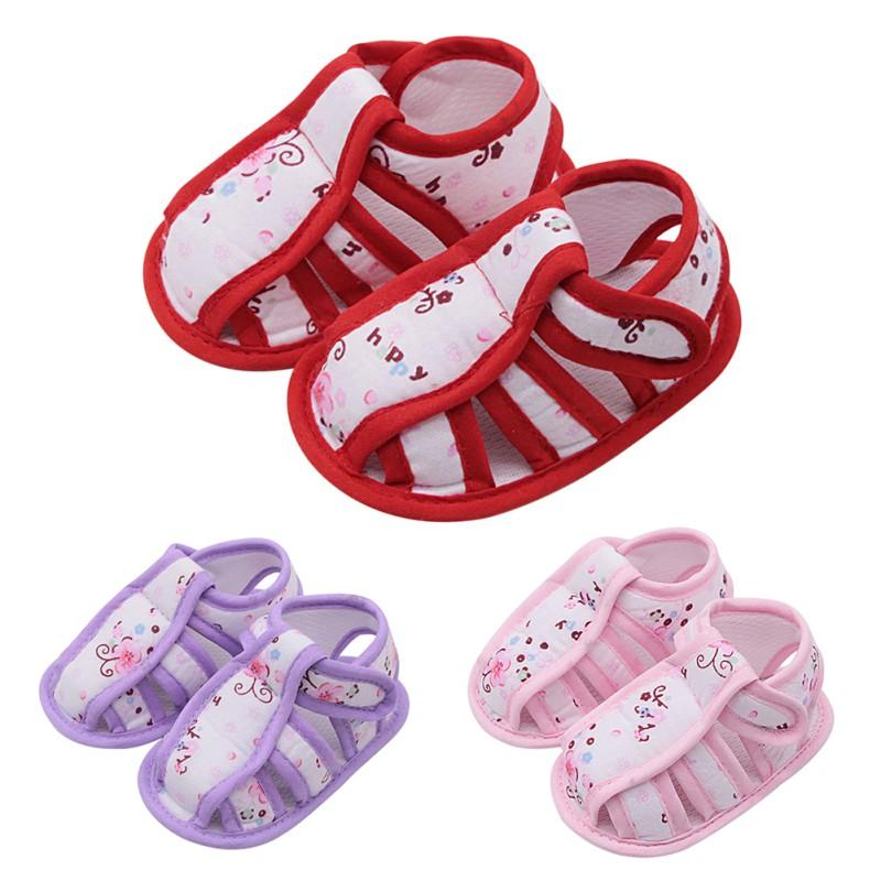 Summer Baby Shoes Casual Cotton Fabric Patchwork Floral Print Kid Sandals  Hot Selling Child Baby Girl Sandals Sandals   Clogs Cheap Sandals   Clogs  Summer ... c1cfacf75175