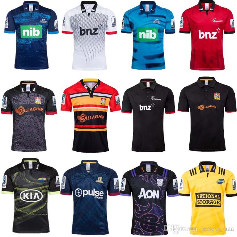 322fe84702e 2019 2019 Hurricanes Crusaders Blues Home Away Super Rugby Jerseys 18 19 New  Zealand Chiefs Jersey Highlanders Shirt From Jerseys_aaa, $15.49 |  DHgate.Com