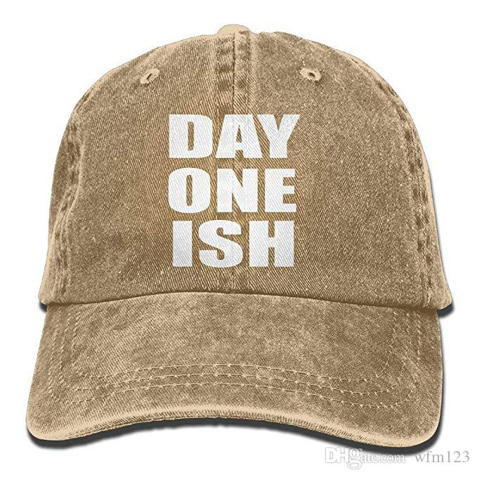 23d62639172d50 2019 New Cheap Baseball Caps Print Hat High Mens Cotton Washed Twill Baseball  Cap Day One Ish Hat Beanies Kangol From Wfm123, $4.62| DHgate.Com