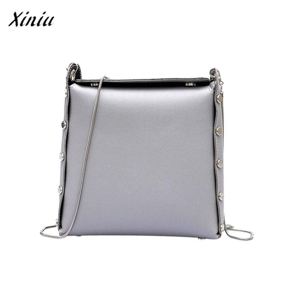 85660ced2c11 Xiniu Luxury Handbags Women Bags Designer Girl Fashion Rivet Decoration  Crossbody Bags Ladies Pretty Style Daily Shoulder Bag Shoulder Bags Cheap  Shoulder ...