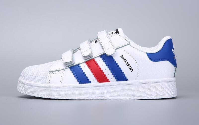Acheter 2019 Adidas Originals Enfants Superstar Cf