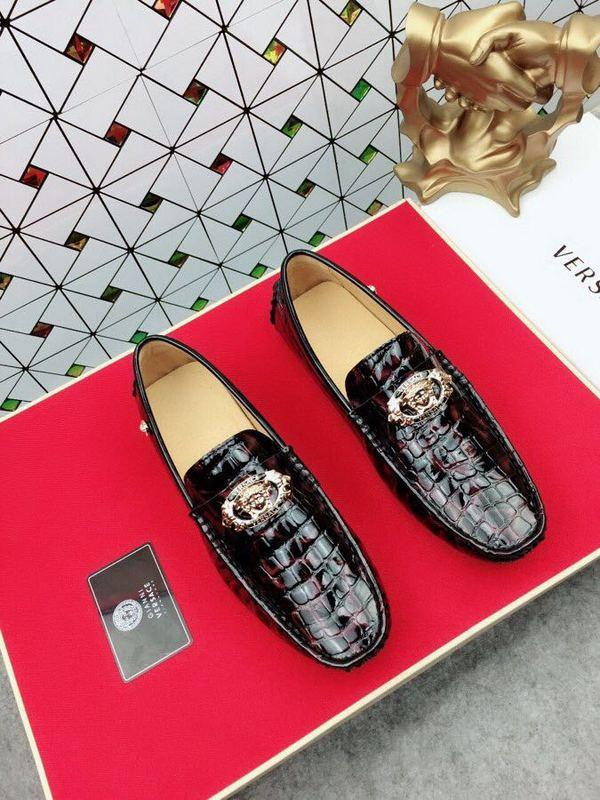 42002new Casual Shoes Color Patent Leather With Metal Buckle Jewelry Men Dress Shoes Moccasins Loafers Lace Ups Boots Drivers Sneakers Shoes