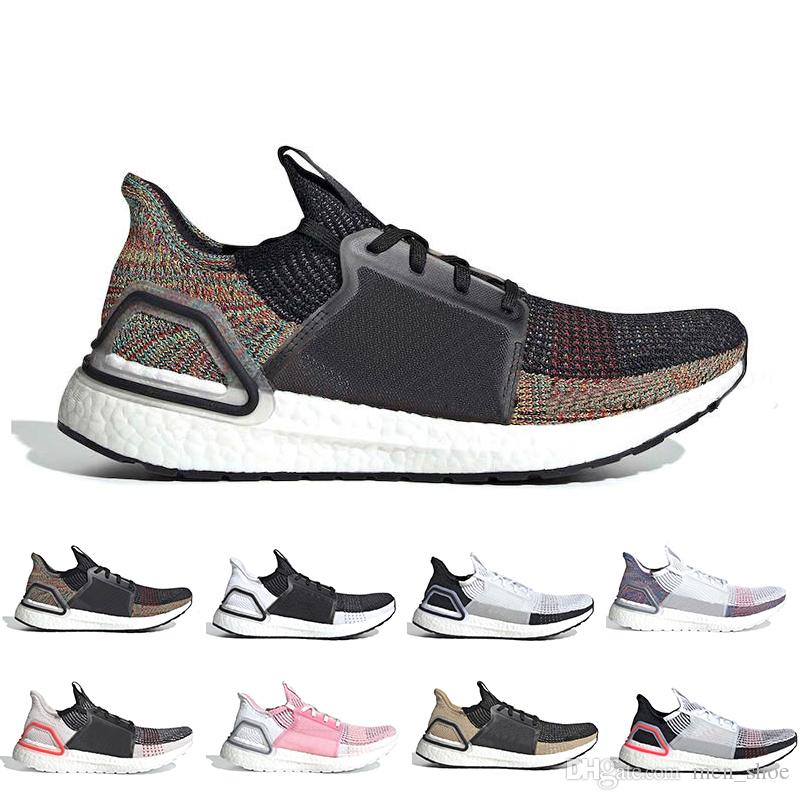 472aed9771e1c Cloud White Black Ultra Boost 2019 Ultraboost Mens Running Shoes Refract  Clear Brown Primeknit 4.0 Sports Trainer Men Women Sneakers 36 45 Shoes  Running ...