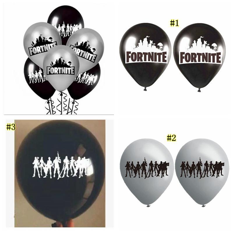 Acheter 12 Pouces Fortnite Ballon Gonflable Enfants Décoration De Fête D\u0027anniversaire  Décoration Grand Fortnite Ballons Fête Fournitures 3 Styles MMA1139 De