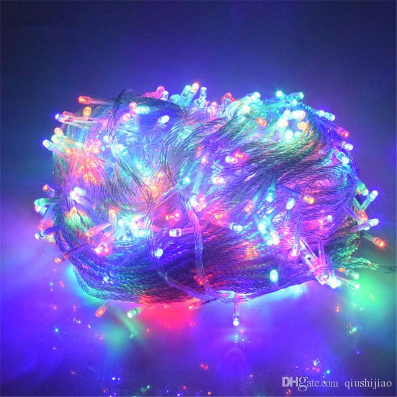 Led Weihnachtsbeleuchtung Warmweiss.Warmweiß Blau Weiß 50 Mt 500 Led String Beleuchtung Hochzeit Fee Weihnachtsbeleuchtung Outdoor Funkeln Weihnachtsdekoration Outdoor Eu Uk Au Stecker
