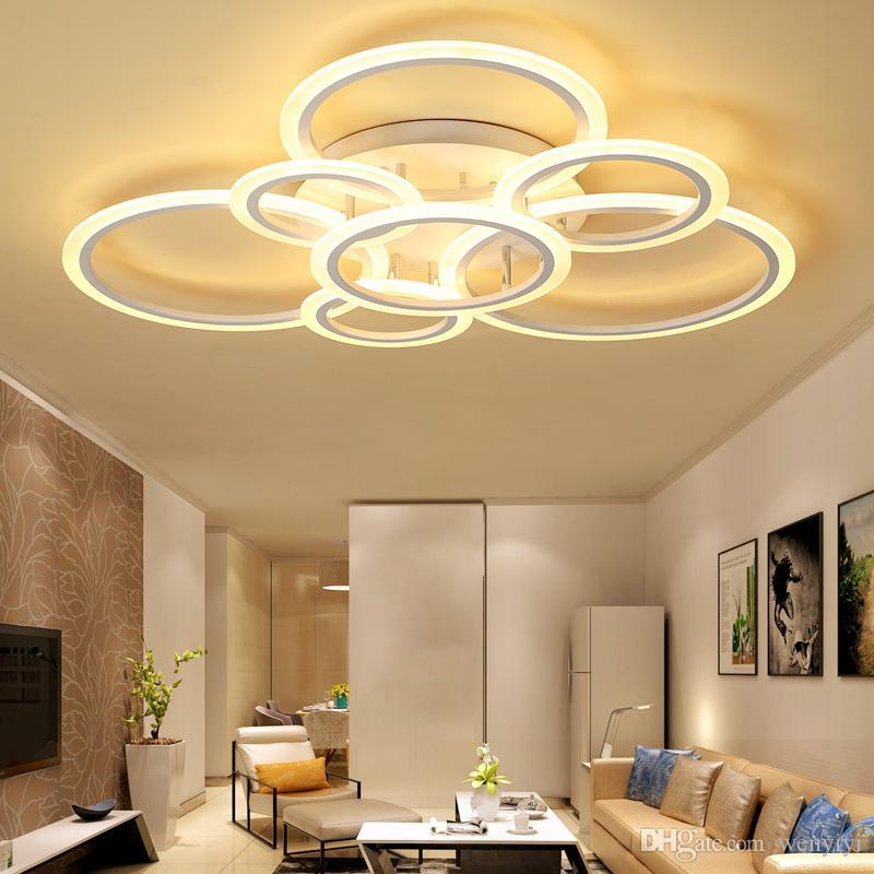 Ceiling Lights New Design Led Ceiling Light For Living Room Dining Room Luminaires For Teto Led Lights For Modern Home Lighting Fixture