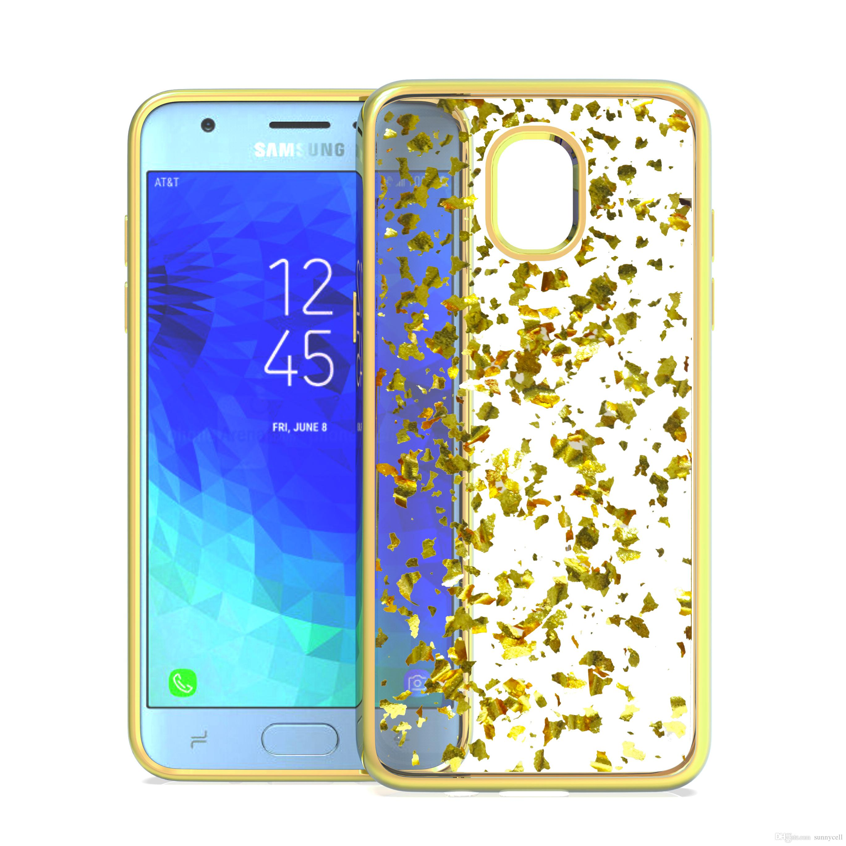 new product b45b2 c8f25 For LG Ms210 Lv5 X Charge Stylo 4 V30 V40 Q7 Aristo 3 Luxury Bling Glitter  Transparent Soft Rubber TPU Electroplate Protective Cover Case
