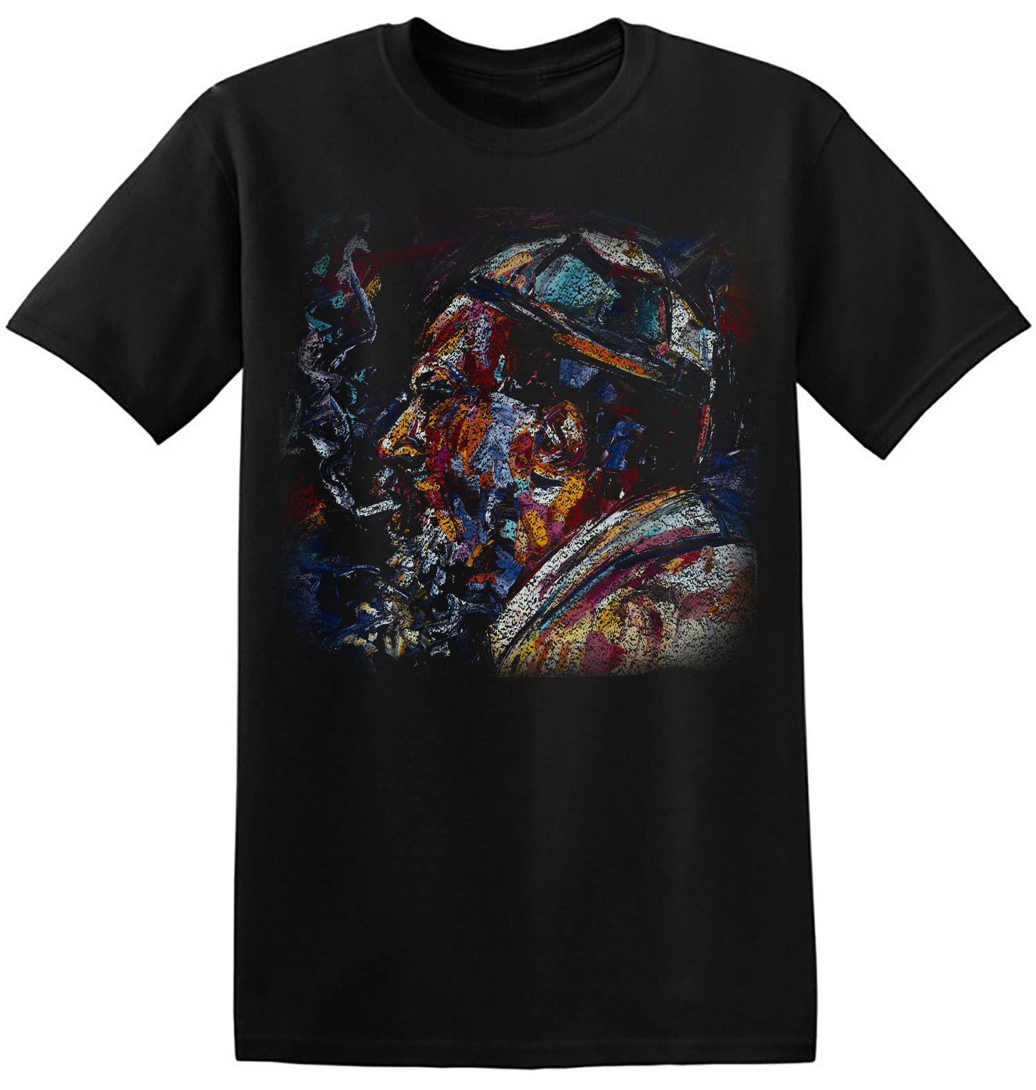 c43ee861d T Shirt Jazz Monk Art Graphic Print Men Cool Retro Black Artist Band Tee 4  A 018 Print T Shirts Men Mens T Shirt Cool Tshirt Designs From  Mayshowstore, ...