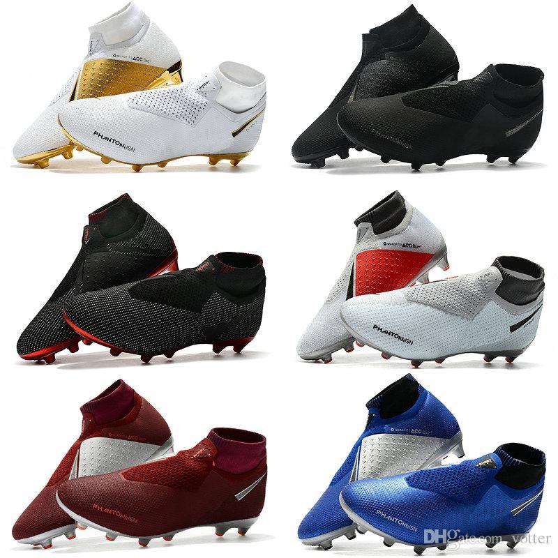 best service 5b945 d89e3 Acheter Nike Chaussettes De Football En Plein Air X EA Sports Phantom  Vision Bottes De Football Scarpe Calcio Taille 39 45 De $112.14 Du Votter |  DHgate.Com