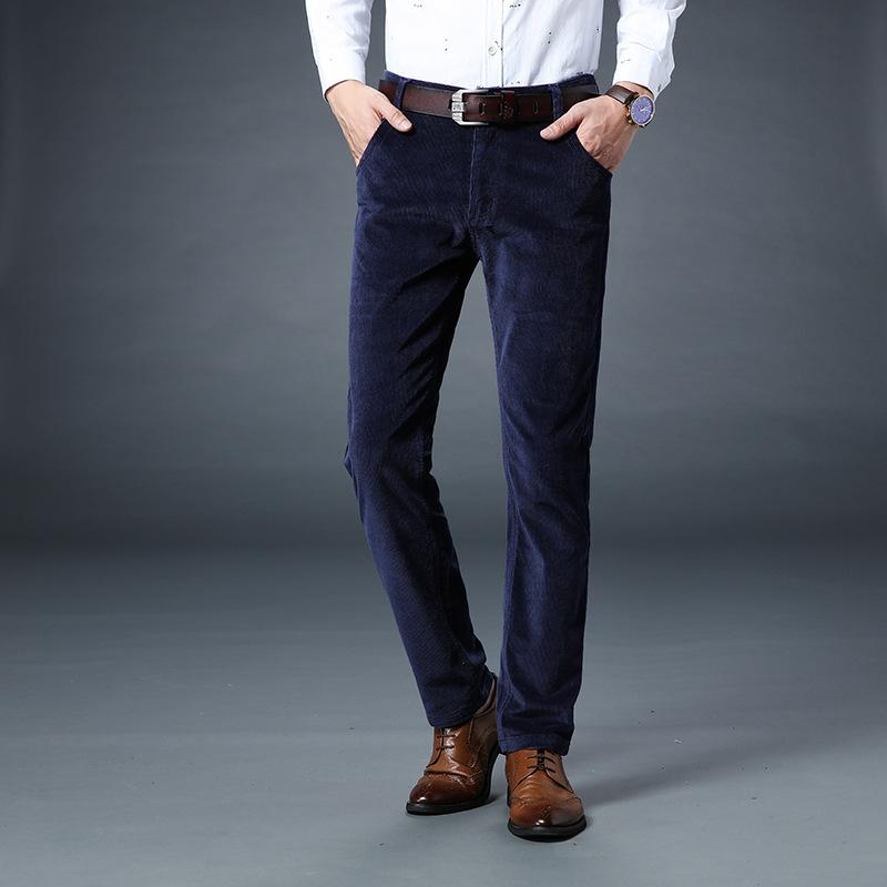 2019 Fashion Autumn Winter Jeans Men Casual Business Style Classical