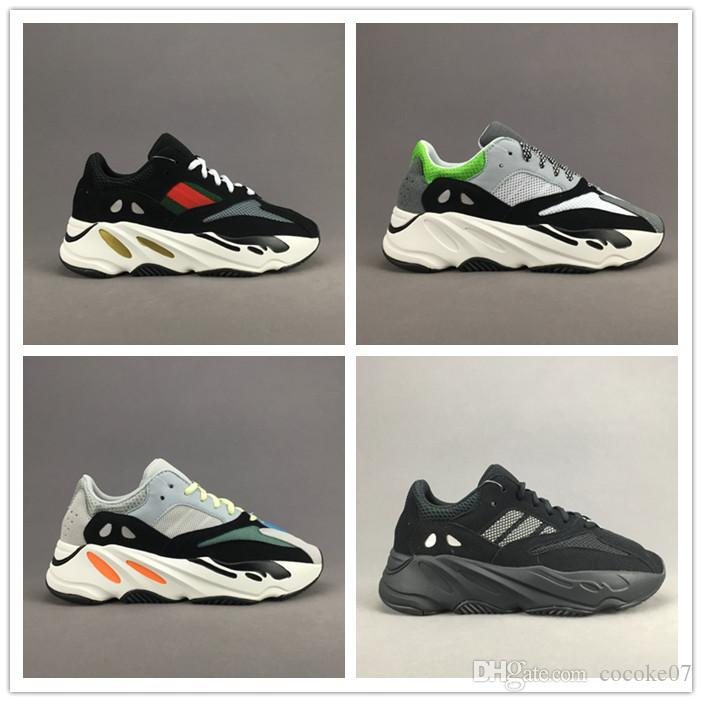 0ae765f649397 Original Box 2018 Kanye West Boost 700 Runner Best Quality Sports Running Shoes  Sneakers Men Womens Black Blue Grey Athletics Shoes 7 11 Dress Shoes For Men  ...