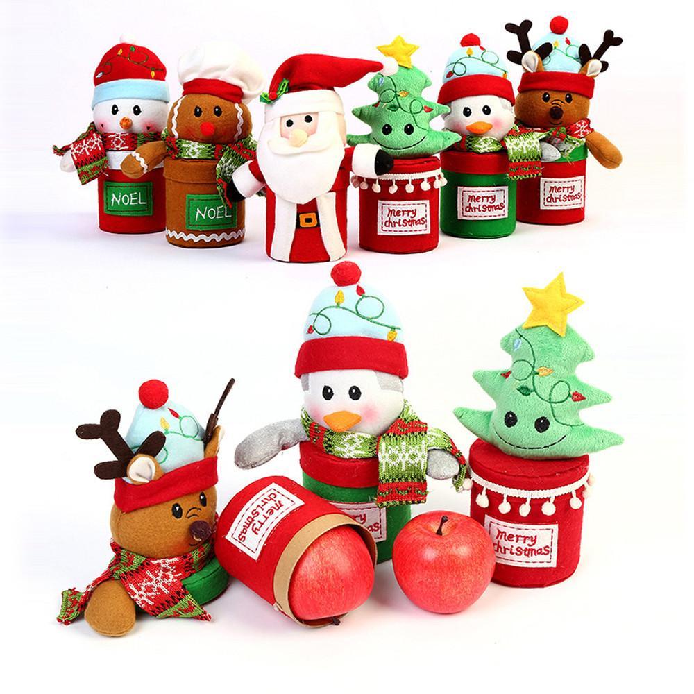 Buon Natale Per Bambini.Acquista Buon Natale Bambini Babbo Natale Pupazzo Di Neve Alci Candy