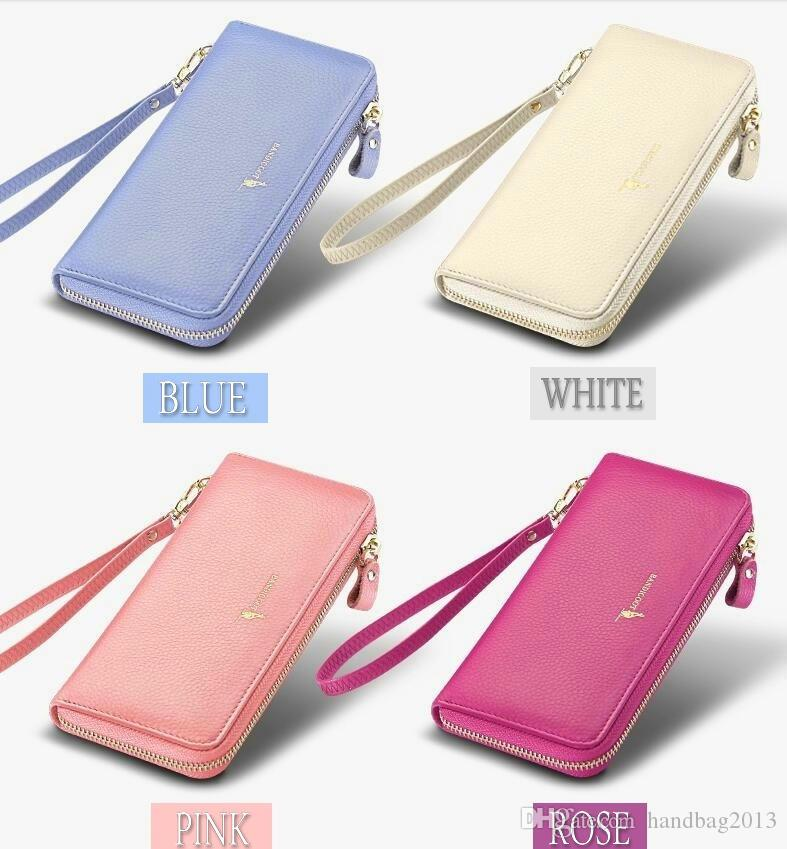 542f711d50c3 2018 New Long Zipper Multi-function Large Capacity Wallet Leather ...
