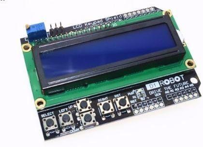 1PCS LCD Keypad LCD1602 LCD 1602 Module Display For Arduino ATMEGA328  ATMEGA2560 raspberry blue screen