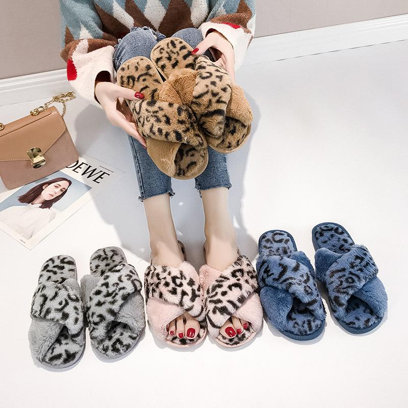 0958dac16 8223op Leopard Shoes Maomao Fashionable New Fairy Crossed Flat in the Fall  And Winter of 2018 Women s Sandals Cheap Women s Sandals 8223op Leopard  Shoes ...