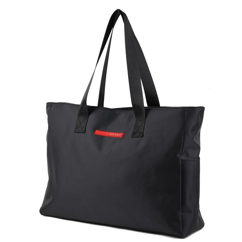 137f5295a4a4 Black Large Travel Bags Waterproof Oxford Big Duffel Bag Men Business  Travel Bag Portable Laptop Tote Organizer Weekend 2019