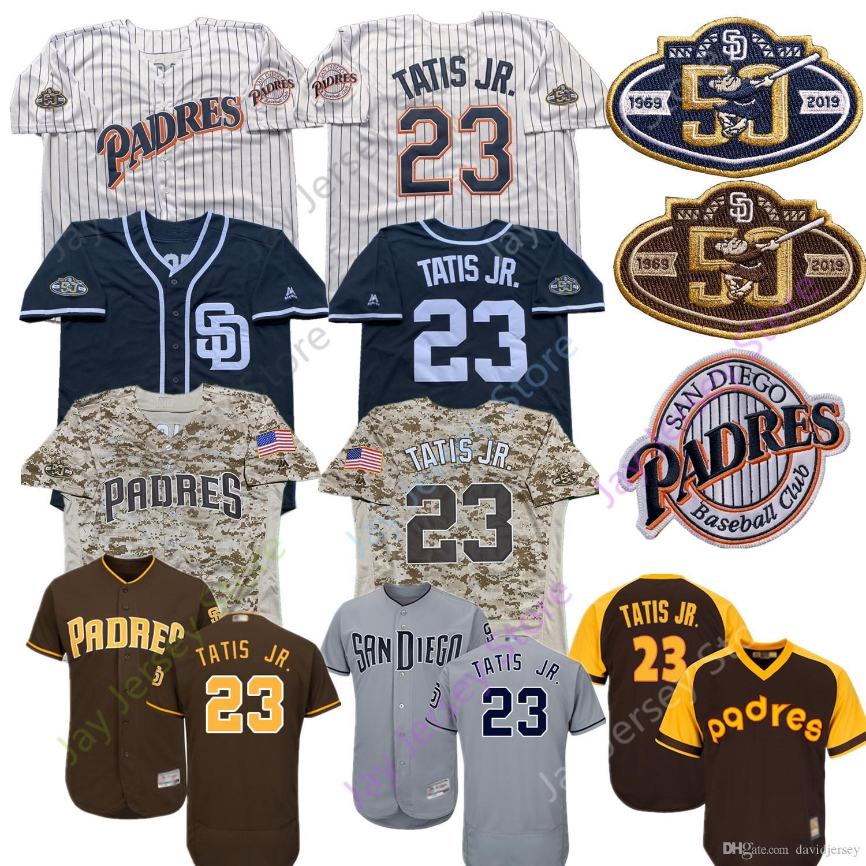 newest 25887 12b46 San Diego Fernando Tatis Jr. Jr Jersey Padres Men Women Youth Kid Coffee  Navy White Grey White Pinstripe