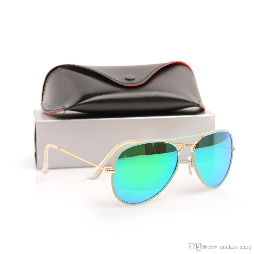 e999e6968fc7 New Glass Mens Sun Glasses JM Pilot Woman Sunglasses Unisex Glasses Brand  Designer Sunglasses Classic Brand Glasses With Original Cases Boxs  Oversized ...