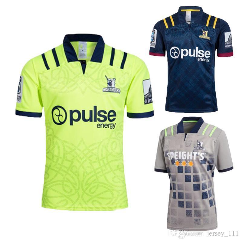 86f95c3f62d News 2018 Highlanders Super Rugby Home Jersey New Zealand Super ...