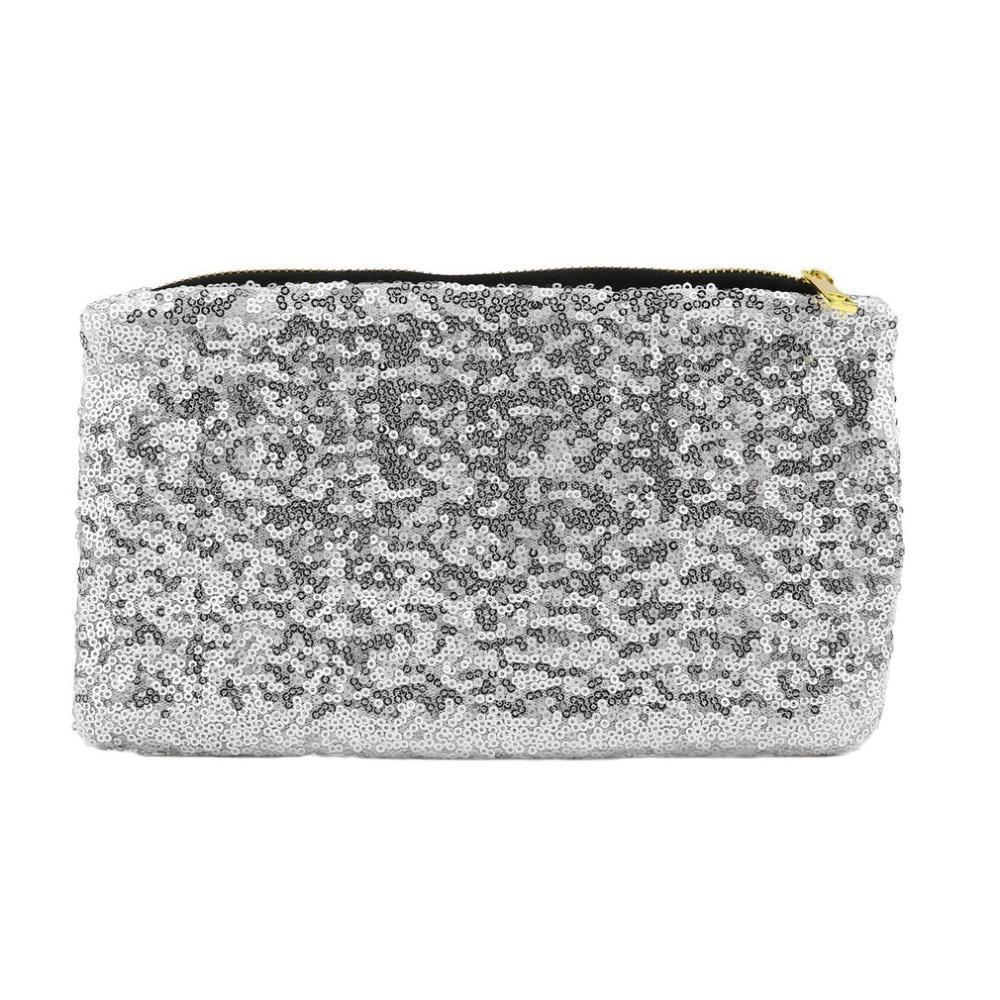 Nice Fashion Womens Dazzling Glitter Sparkling Sequins Dazzling Clutch Evening Party Bag Handbag Evening Party Purse Popular