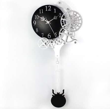 Ordinaire Hot High Quality Gear Wall Clock Dynamic Mechanical Appearance Of Fashion  Home Decorations Pendulum Clock Design Clock Modern Kitchen Wall Clock  Modern ...