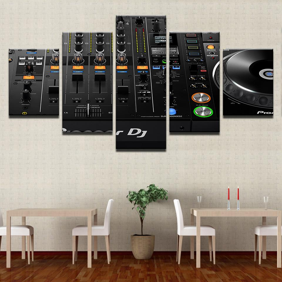 Lovely 2019 Canvas Painting Wall Art Home Decor For Living Room HD Print Music DJ  Console Instrument Mixer Unframed Modular Poster From Fashion_wallart, ...