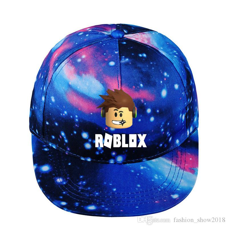 1425ac8d016af Roblox Hat Starry Sky Hat Game Around Baseball Cap Summer Sunhats Cartoon Baseball  Adjustable Snapback Hats Embroidered Hats Leather Hats From ...