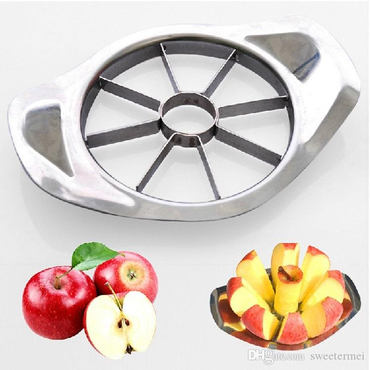 Stainless Steel Corer Slicers Shredders Apple Cutter Go Nuclear Fruit Knife Cutters Fruits Splitter Fruitage Generator Knives