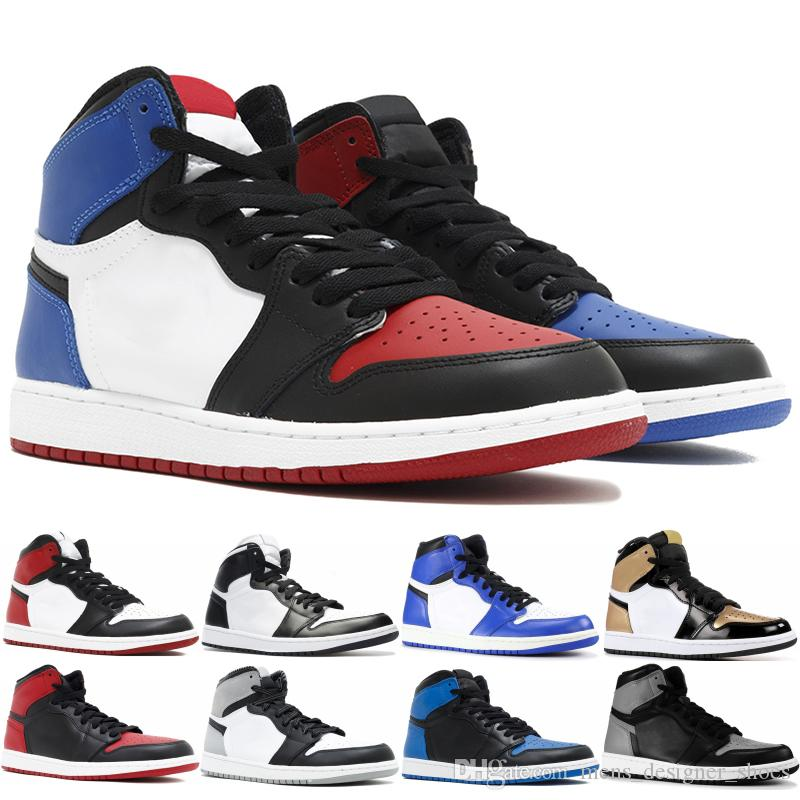 en soldes b20df 26969 Nike Air Jordan 1 Retro High OG Spiderman X 1 OG Chaussures De Basket-ball  Pour Hommes Femmes 2019 Meilleure Qualité 1S Haute Chicago Sport Designer  ...