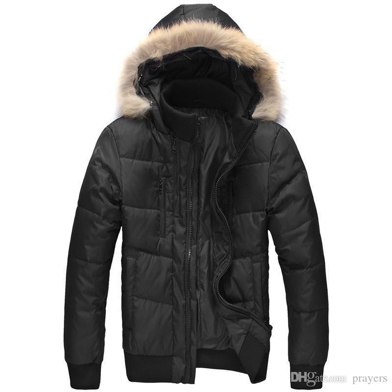 Winter Canada Coat Women Thick Fashion Hooded Down Jacket Women s ... 5e39eb490c