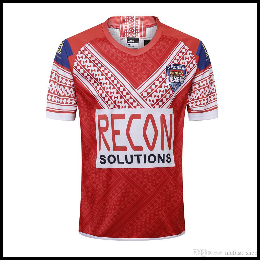 740d63b4877 2019 2019 2020 TONGA NATIONL LEAGUE Home Jersey Rugby Jerseys Shirt League  Jersey Training Singlet From Mufasa_shop, $16.4   DHgate.Com
