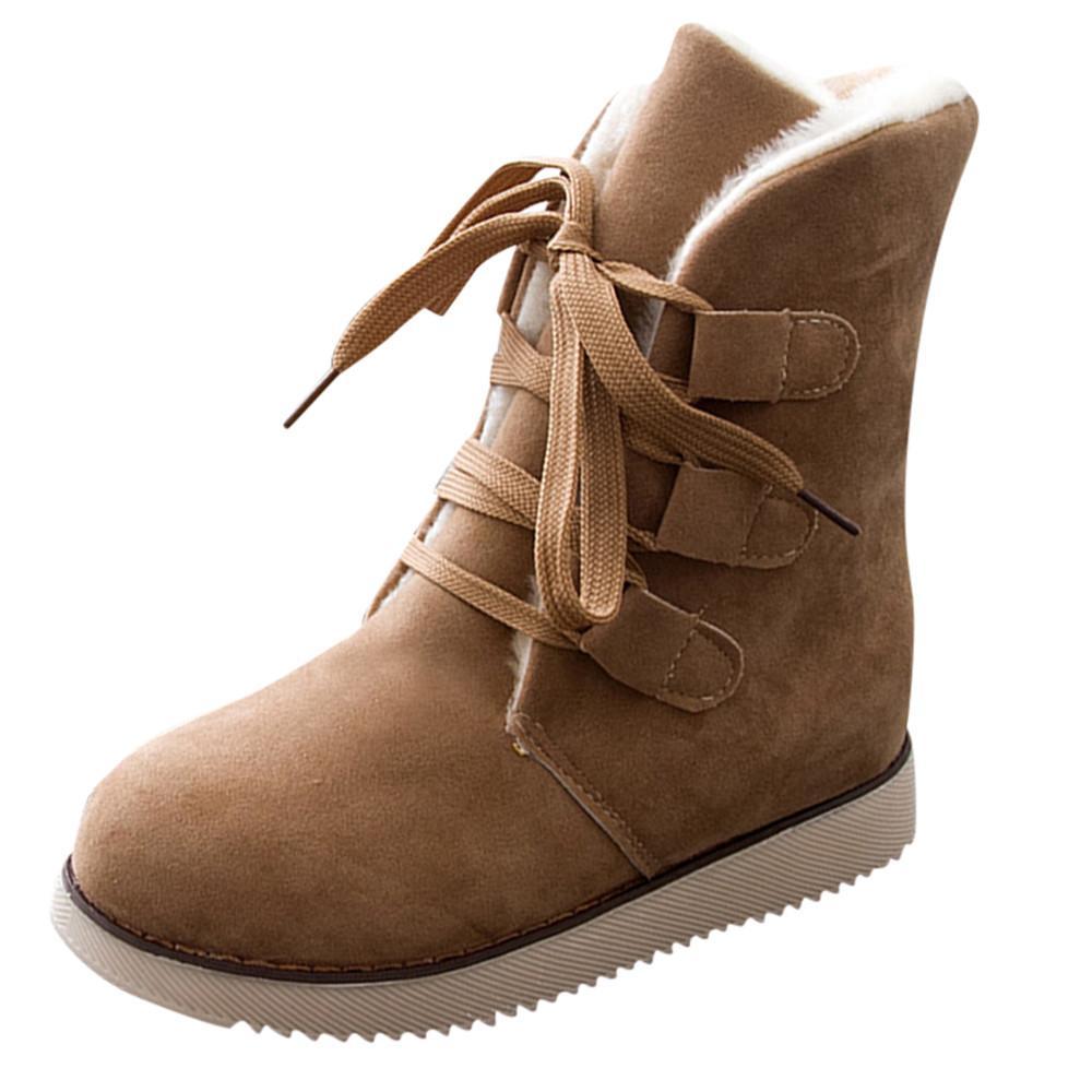 3c4d4c552804 SAGACE Boots Women Winter Boots Women Snow Winter Shoes Lace Warm Boot  Martin Short Bootie Drop Shipping CSV O1213 25 Rain Boots For Women Wedge  Booties ...