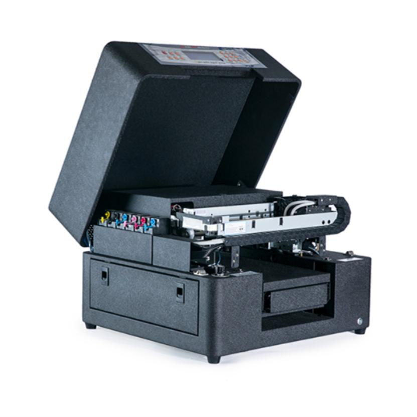 A4 Size Flatbed Uv Printer For Recharge Card Name Card Printing