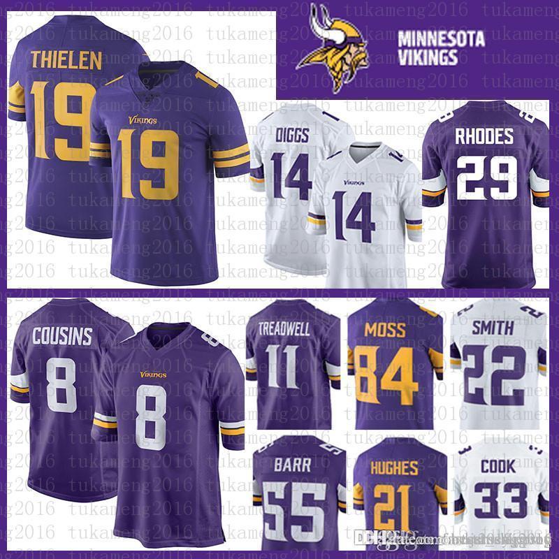 052a2ff40 Best Minnesota Vikings Jersey 21 Mike Hughes 84 Moss 29 Xavier ...