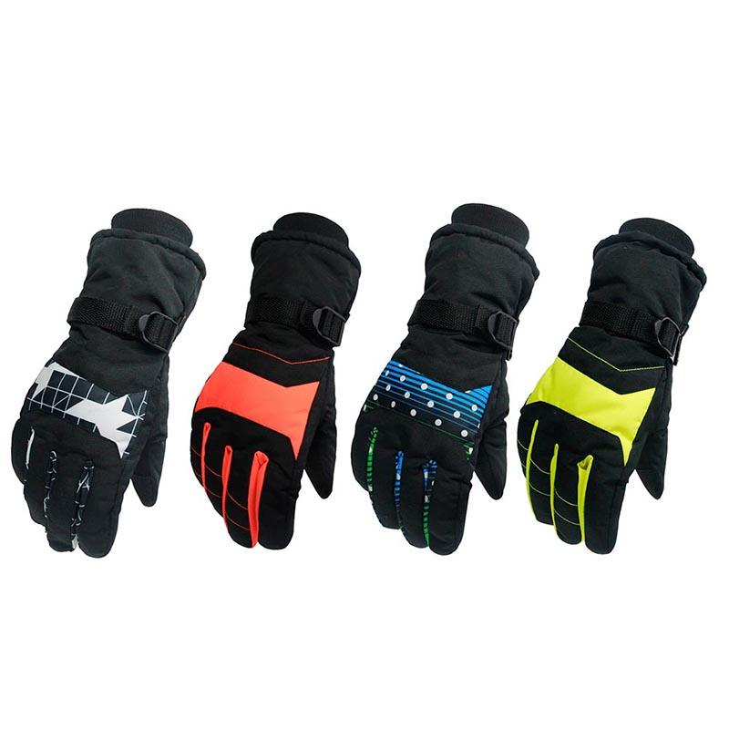 4687233b0462 Mountain Skiing Snowmobile Waterproof Glove Antiskid Wear Resistant ...