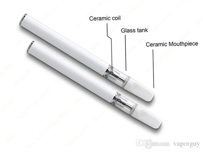 Disposable Cigarettes Open Vape All In One pen vaporizer thick oil  cartridge Originally 350mah bottom rechargeable mini vape pen ecig