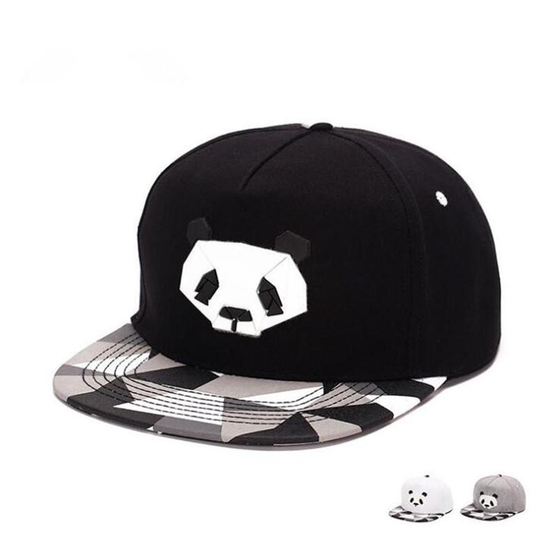 fashionspring and summer lovers baseball cap hip-hop hat male Ms. cute panda zebra rubber hatsnapback Flat-brimmed
