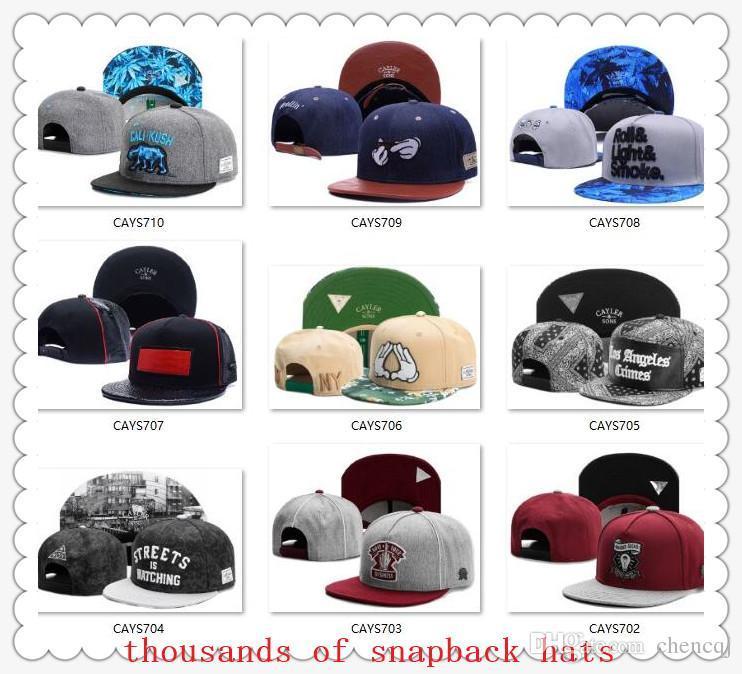 bc48a161ad7c2 Lids 2019 New Arrival Snapbacks Hats Cap Cayler   Sons Snap Back Baseball  Casual Caps Hat Adjustable Size High Quality Drop Shipping Cool Caps Flat  Brim ...