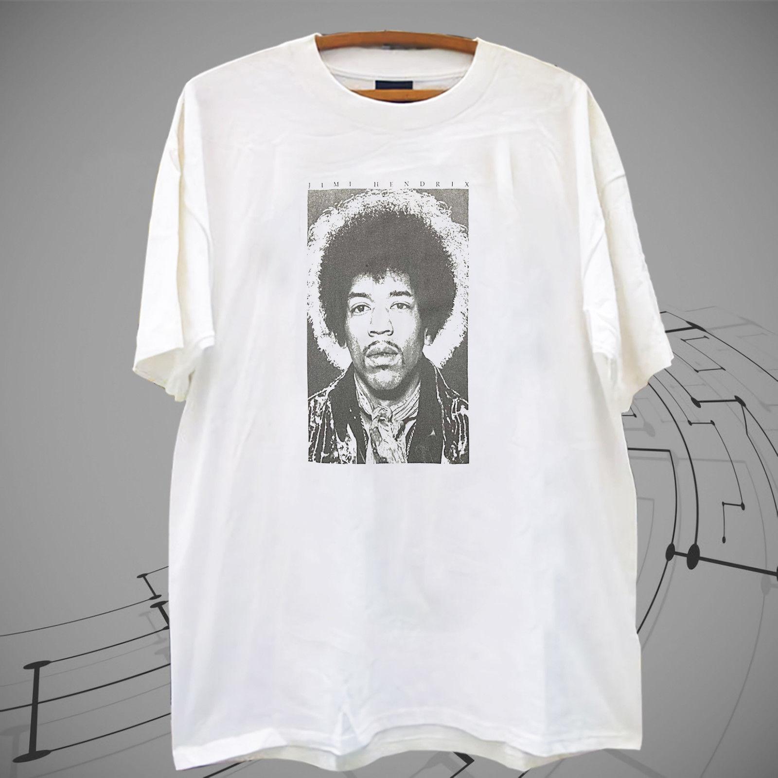 c2fe5f01744 Jimi Hendrix White T Shirt Tee XS 2XL Funny Unisex Casual Tshirt Top Mens  Dress Shirt Patriotic T Shirts From Deepseastation
