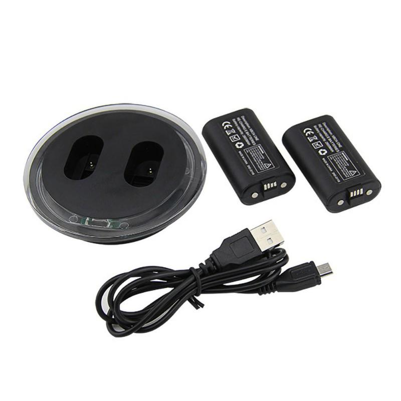 Gamepad Set For Xbox One Dual Station Controller Charging Dock Charger And Extra Battery 2