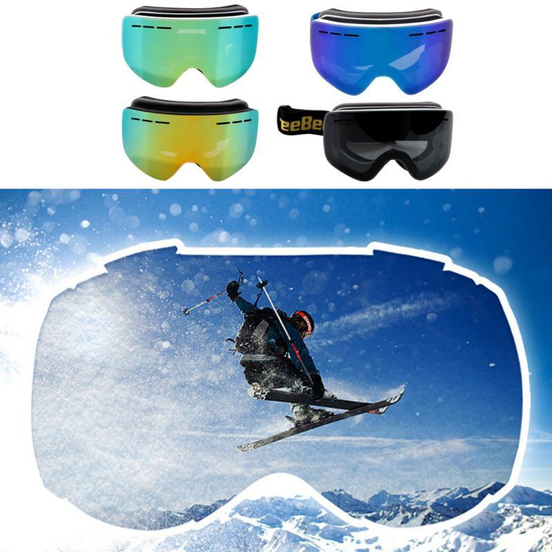 886b72beff1a Winter Goggles Skiing Anti-fog Ski Goggles Mountaineering Glasses ...