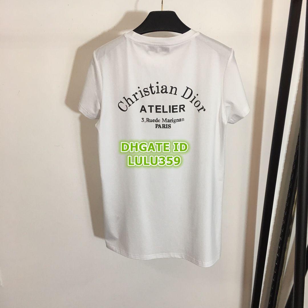 088138d434d 19 Women Black White Embroidery Split Letter Print Women S Printed T Shirt  Tops Apparel Shirt High Quality Fashion Customize T Shirt Tee T Shirts Buy  Online ...