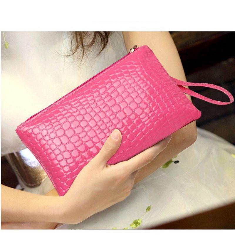 a3eb99bbee50 2019 Fashion Long Women Wallets Money Bag Leather Women s Purse Coin ...