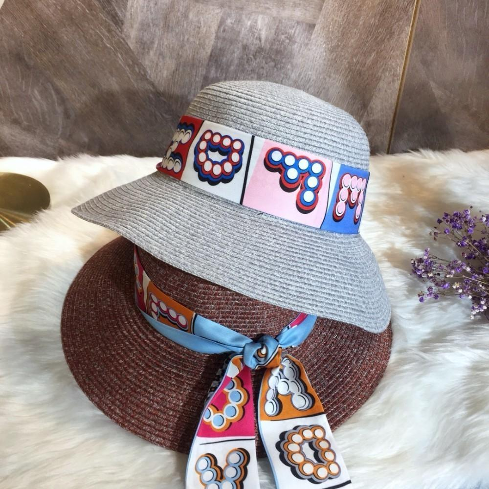 8b3e27c65318d 2019 The New Big Eaves Hats For Women Goddess High Quality Light Breathable  Elaborate Hats Bucket Hats From Wsj288