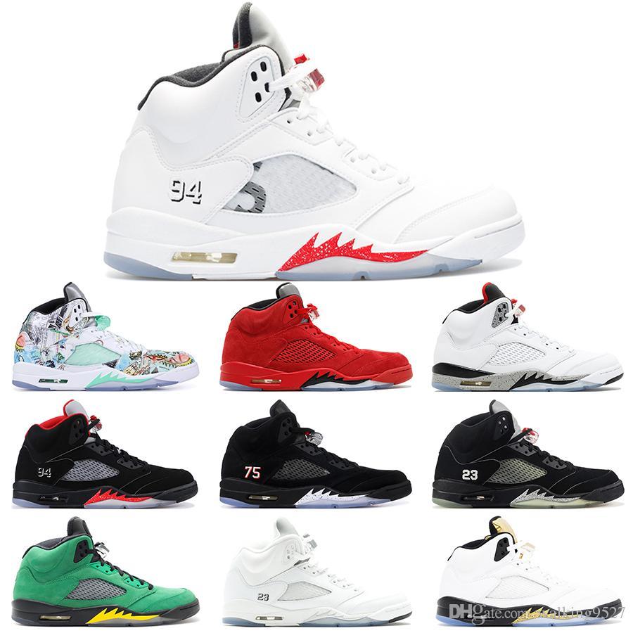fb92432af ... Wings Oregon Ducks Black Grape White Cement Alternate 90 Oreo Pro Star  Mens Shoes Sport Designer Sneakers US 8 13 From Walking9527